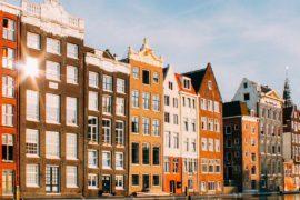 sunny spring holidays amsterdam